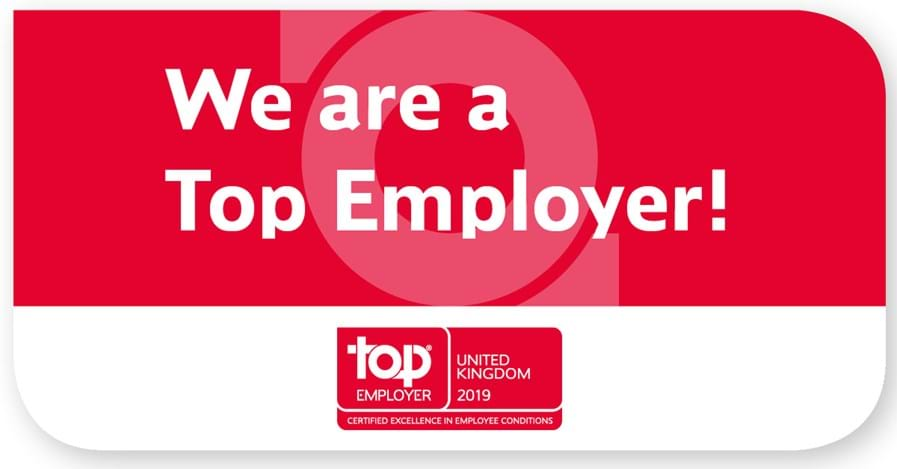 We're a Top Employer!