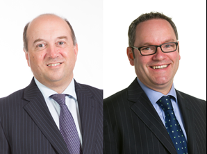 David Lewis, our new senior partner, and Kieran Jones, our new director of client relationships