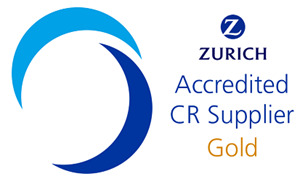 Zurich Accredited CR Supplier: Gold