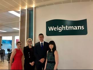 Weightmans new recruits
