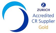 Zurich Accredited CR Supplier: Gold